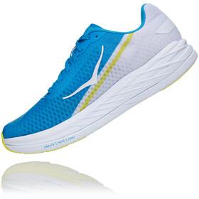 Hoka One One Rocket X Shoes, white/diva blue